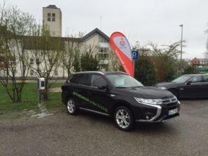E-Auto der Firma Neumaier aus Bad Aibling